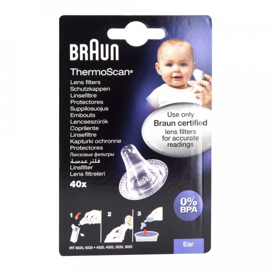 Hier sehen Sie den Artikel BRAUN ThermoScan Ersatz-Schutzkapp LF40EULA 40 Stk aus der Kategorie Fieberthermometer und Zubehör. Dieser Artikel ist erhältlich bei unseredrogerie.ch
