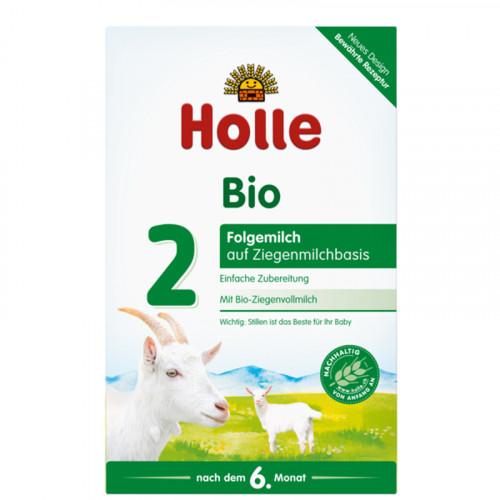 HOLLE Folgemilch 2 Ziegenmilchbasis Bio 400 g