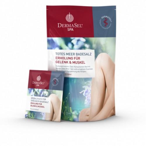 DERMASEL Badesalz Gelenk&Muskel D/F/I Btl 400 g