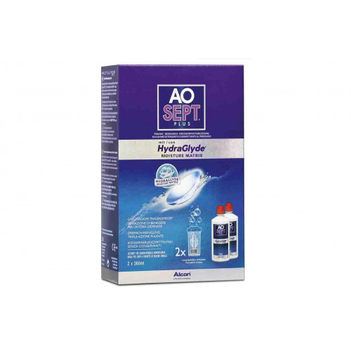 AOSEPT PLUS mit HydraGlyde 2 x 360 ml