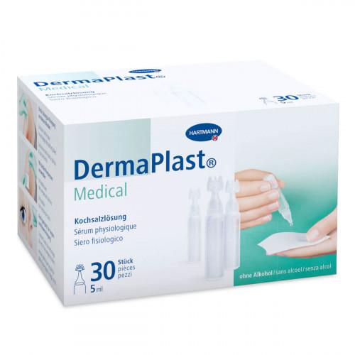 DERMAPLAST Medical phys Kochsalzlösung 30 x 5 ml