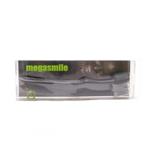 MEGASMILE Black Whitening Zahnbürste 2 Stk