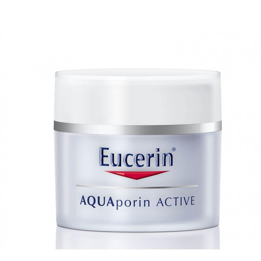 Hier sehen Sie den Artikel EUCERIN Aquaporin Active trockene Haut 50 ml aus der Kategorie Gesichts-Balsam/Creme/Gel. Dieser Artikel ist erhältlich bei unseredrogerie.ch