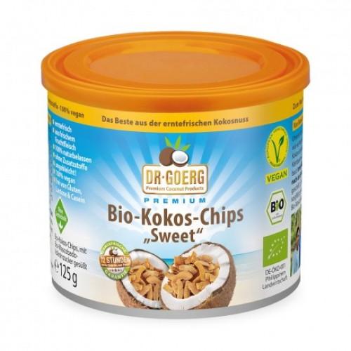 DR. GOERG Kokos-Chips süss 125 g