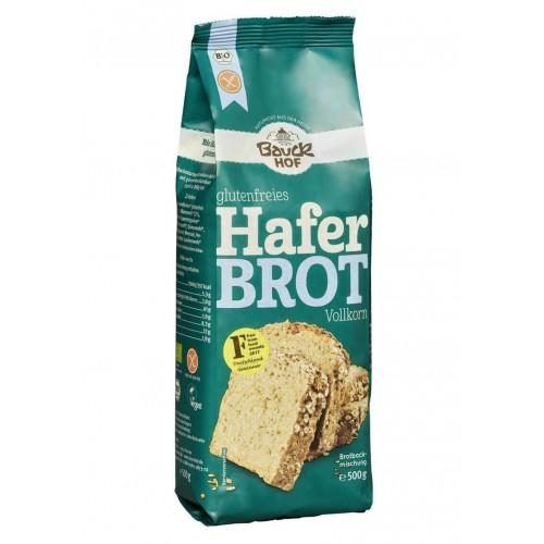 BAUCKHOF Brotbackmisch Haferbrot glutenf 500 g