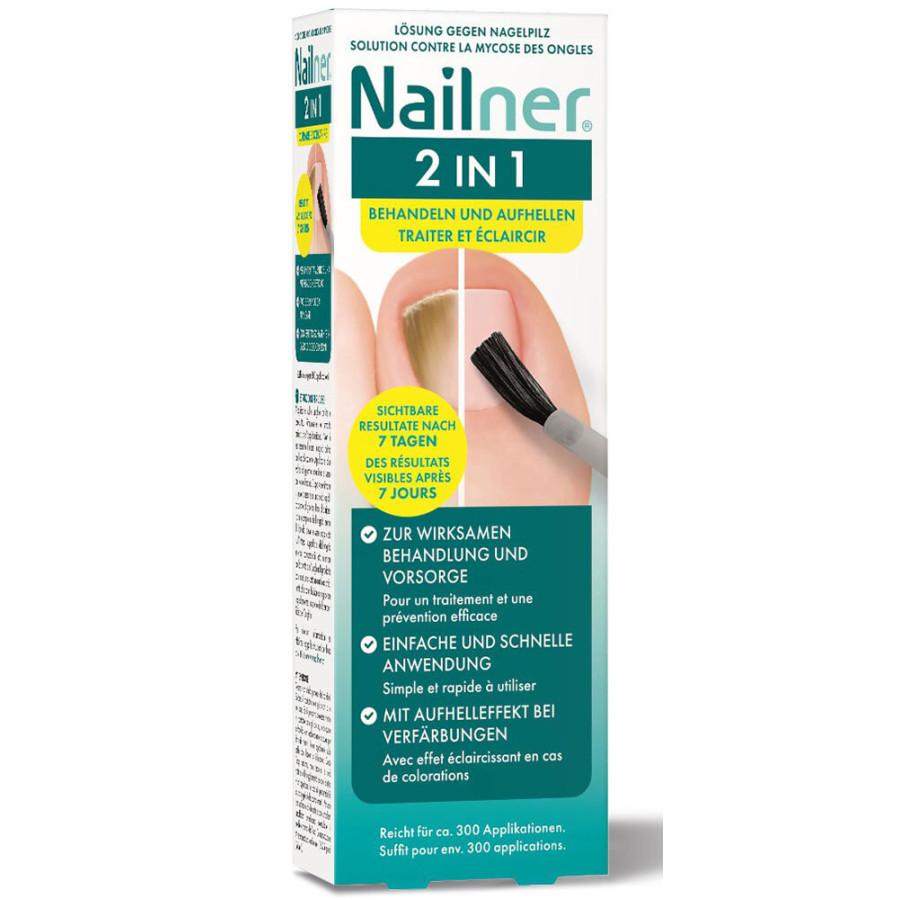 Hier sehen Sie den Artikel NAILNER Nagelpilz-Lösung 2-in-1 5 ml aus der Kategorie Nagelbalsam/Cremen/Kuren. Dieser Artikel ist erhältlich bei unseredrogerie.ch