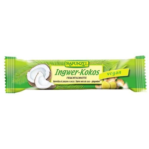 RAPUNZEL Fruchtschnitte Ingwer-Kokos 40 g