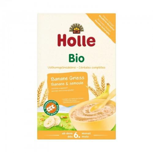 HOLLE Fruchtbrei Banane Griess Bio 250 g