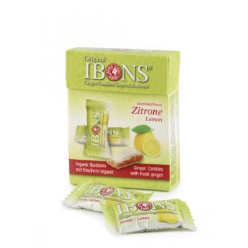IBONS Ingwer Bonbon Zitrone Box 60 g