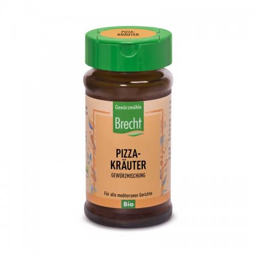 BRECHT Pizza Kräuter Bio Glas 25 g