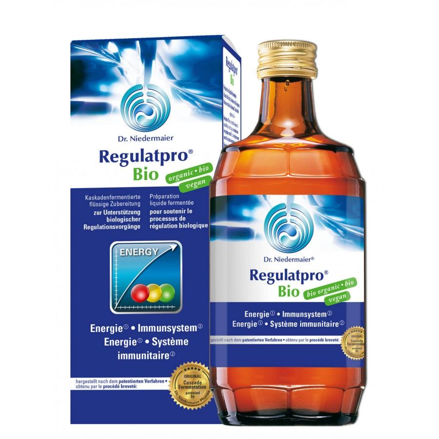 Hier sehen Sie den Artikel REGULATPRO Bio Fl 350 ml aus der Kategorie Kurmittel/Nahrungsergänzung. Dieser Artikel ist erhältlich bei unseredrogerie.ch