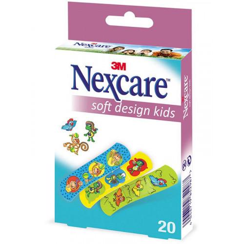 3M NEXCARE Kinderpfl Soft Kids Des non-ass 20 Stk