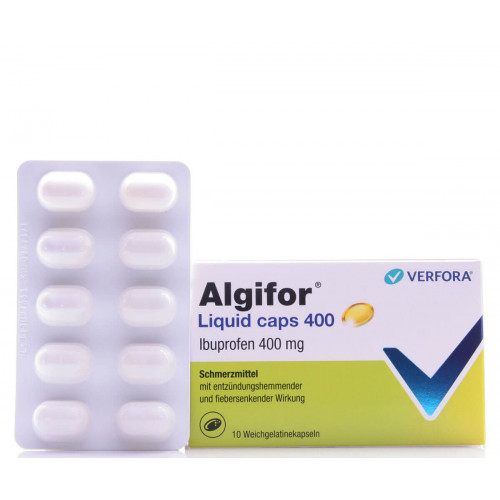 ALGIFOR Liquid Caps 400 mg 10 Stk