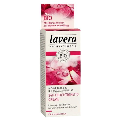 LAVERA 24h Feuchtigkeitspflege Wildrose 50 ml