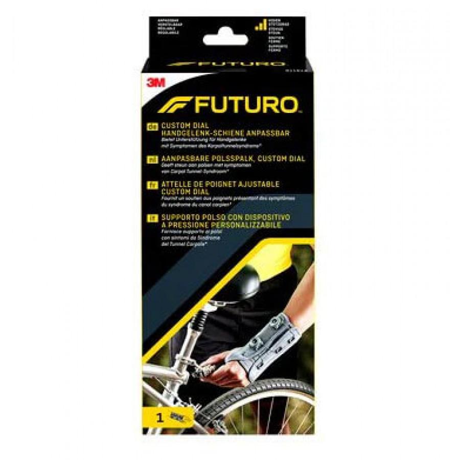 Hier sehen Sie den Artikel 3M FUTURO Custom Dial Handgelenk links anpassbar aus der Kategorie Handgelenkbandagen. Dieser Artikel ist erhältlich bei apothekedrogerie.ch