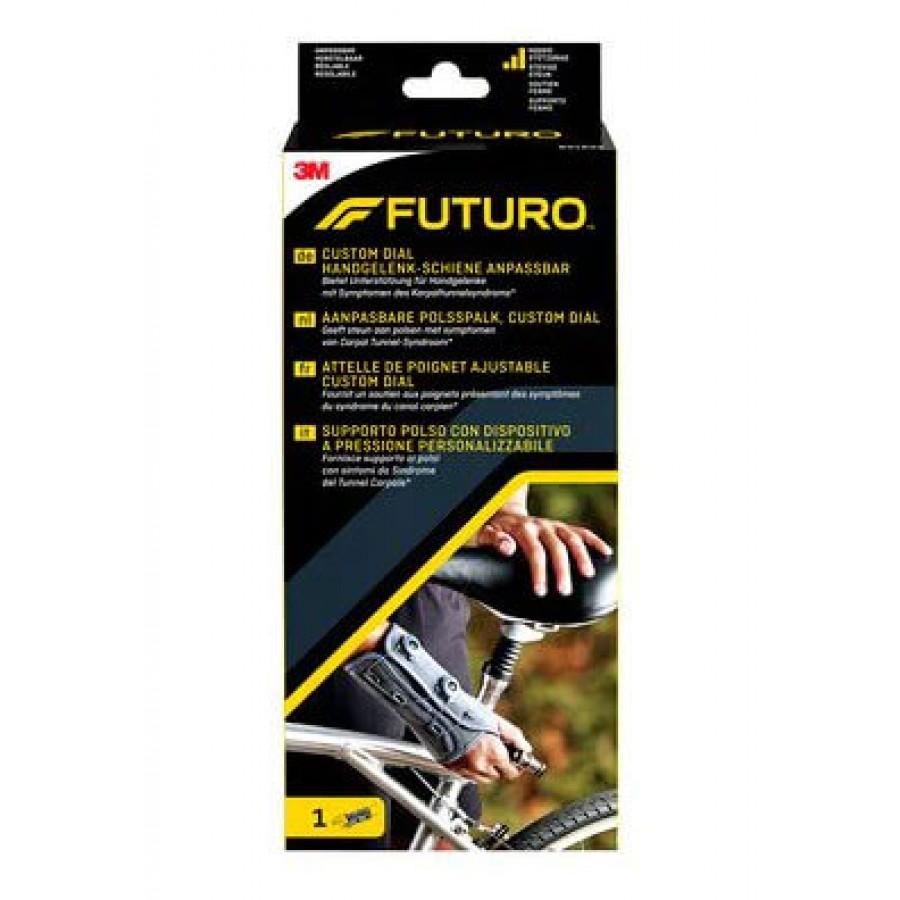 Hier sehen Sie den Artikel 3M FUTURO Custom Dial Handgelenk rechts anpassbar aus der Kategorie Handgelenkbandagen. Dieser Artikel ist erhältlich bei apothekedrogerie.ch