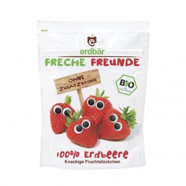 FRECHE FREUNDE Fruchtchips Erdbeere (alt) 12 g