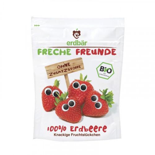 FRECHE FREUNDE Fruchtchips Erdbeere 12 g