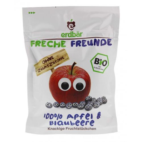 FRECHE FREUNDE Fruchtchips Apfel&Blaubeere 16 g