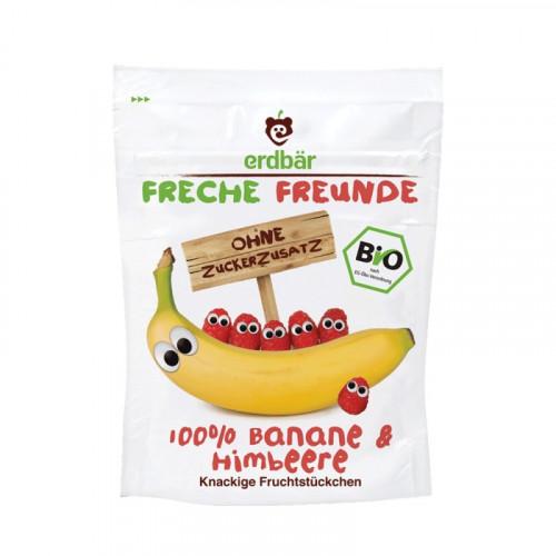 FRECHE FREUNDE Fruchtchips Banane&Himbeere 16 g
