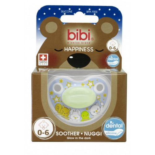 BIBI Nuggi HP DenSil 0-6 Glow