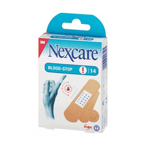 3M NEXCARE Pflaster Blood-Stop ass 14 Stk