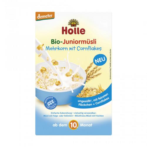 HOLLE Bio-Juniormüsli Mehrkorn mit Cornflake 250 g