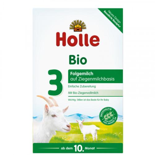 HOLLE Folgemilch 3 Ziegenmilchbasis Bio 400 g