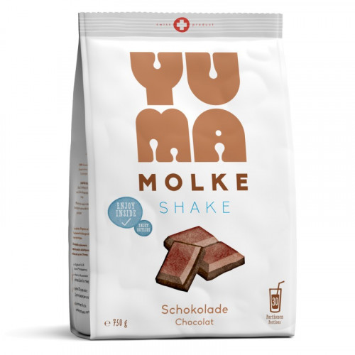 YUMA Molke Schokolade Btl 750 g