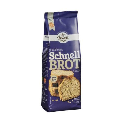 BAUCKHOF schnelles dunkles Brot glutenfrei 475 g