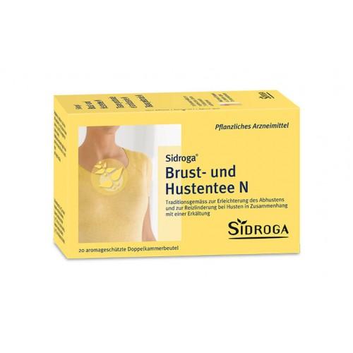 SIDROGA Brust- und Hustentee N 20 Btl 2 g
