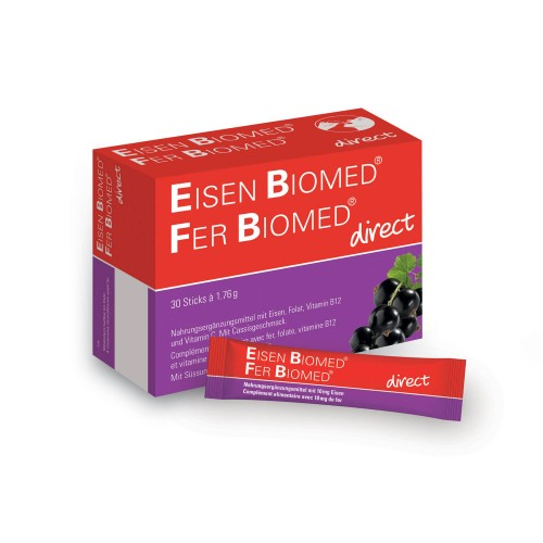 EISEN BIOMED direct Gran Sticks 30 Stk