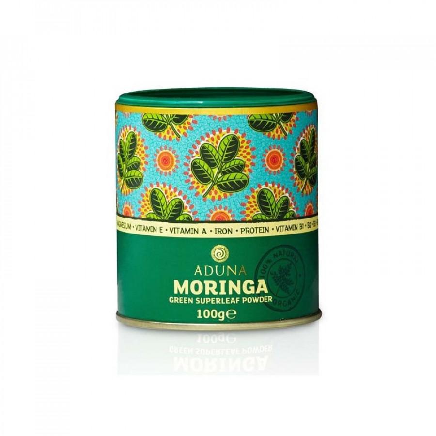 Hier sehen Sie den Artikel ADUNA Moringa Grünblatt Pulver Ds 100 g aus der Kategorie Kurmittel/Nahrungsergänzung. Dieser Artikel ist erhältlich bei apothekedrogerie.ch