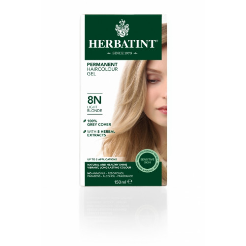 HERBATINT Haarfärbegel 8N Hellblond 150 ml