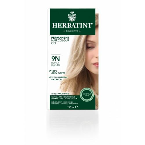 HERBATINT Haarfärbegel 9N Honigblond 150 ml