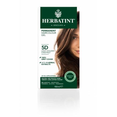 HERBATINT Haarfärbegel 5D Hel Gol-Kastanien 150 ml