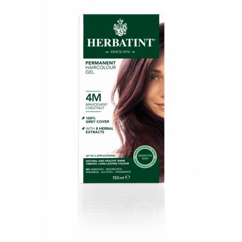 HERBATINT Haarfärbegel 4M Mahagon-Kastanien 150 ml