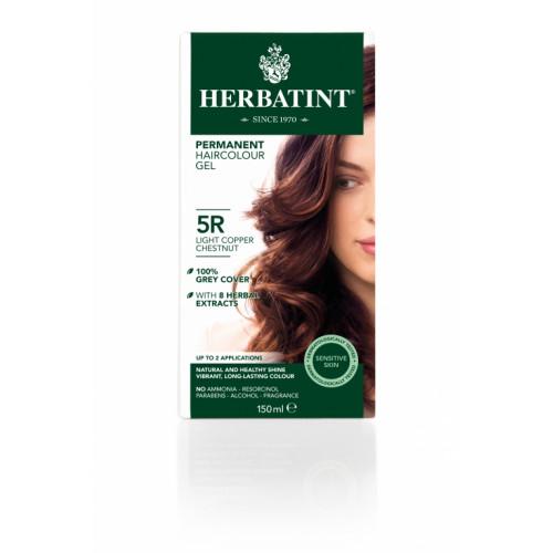 HERBATINT Haarfärbegel 5R He Kupf-Kastanien 150 ml