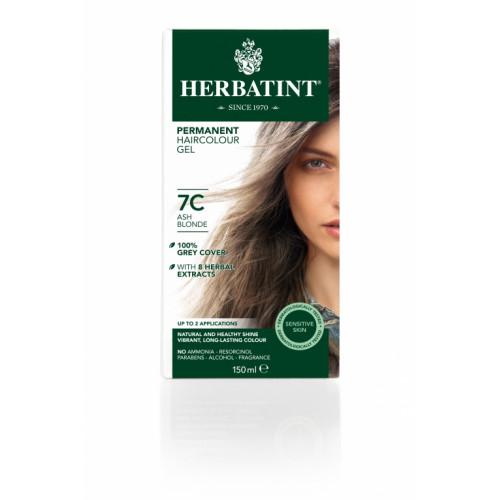 HERBATINT Haarfärbegel 7C Aschblond 150 ml