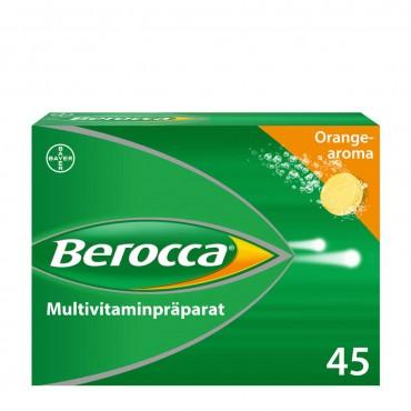 BEROCCA Brausetabl Orangenaroma 45 Stk