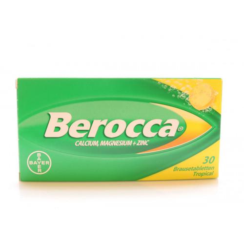 BEROCCA Brausetabl Tropicalaroma 30 Stk