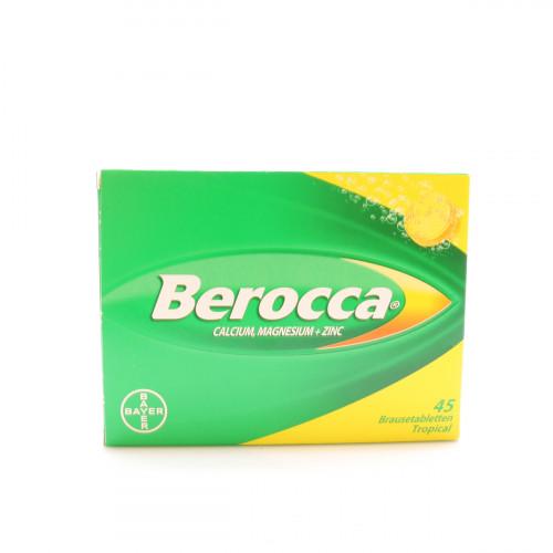 BEROCCA Brausetabl Tropicalaroma 45 Stk