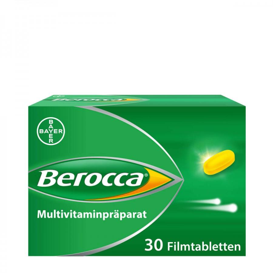 Hier sehen Sie den Artikel BEROCCA Filmtabl 30 Stk aus der Kategorie Medikamente der Liste D. Dieser Artikel ist erhältlich bei apothekedrogerie.ch