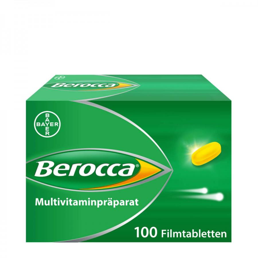 Hier sehen Sie den Artikel BEROCCA Filmtabl 100 Stk aus der Kategorie Medikamente der Liste D. Dieser Artikel ist erhältlich bei apothekedrogerie.ch