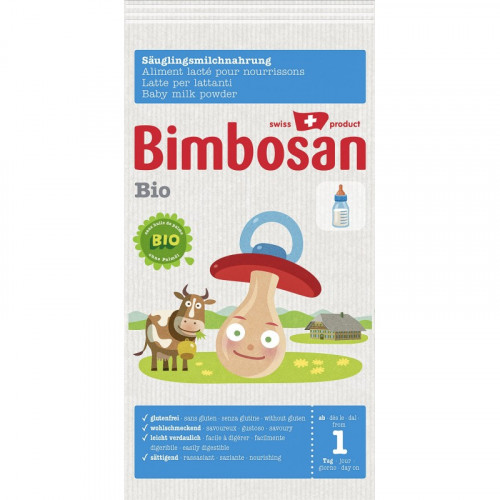 BIMBOSAN Bio Anfangsmilch Reiseport 3 x 25 g