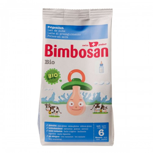 BIMBOSAN Bio Folgemilch refill 400 g