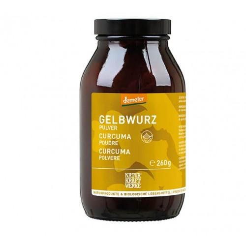 NATURKRAFTWERKE Gelbwurzpulver Bio/kbA 260 g