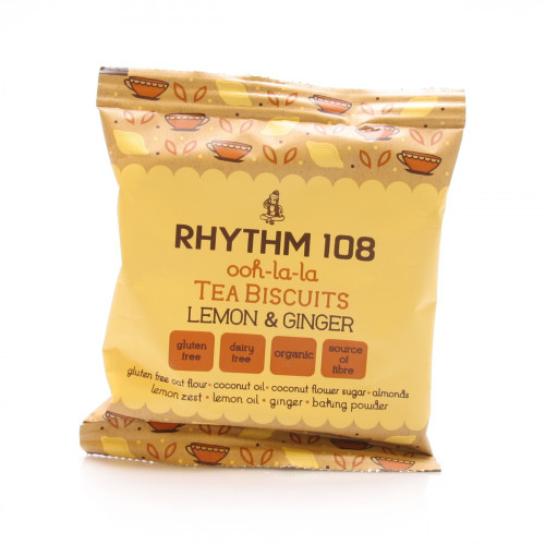RHYTHM108 Lemon & Ginger Teegebäck 24 g