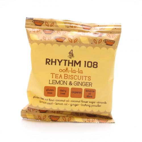 RHYTHM108 Lemon & Ginger Teegebäck 24 g