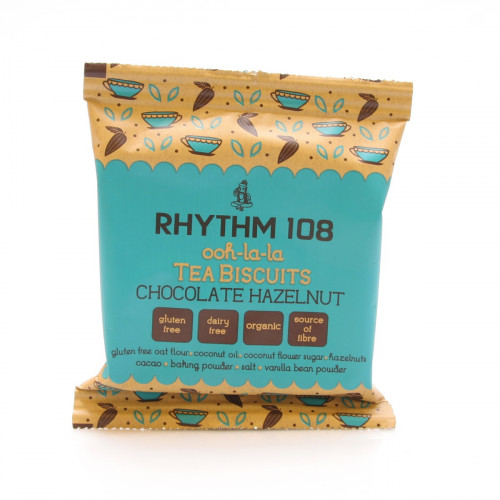 RHYTHM108 Chocolate Hazelnut Teegebäck 24 g